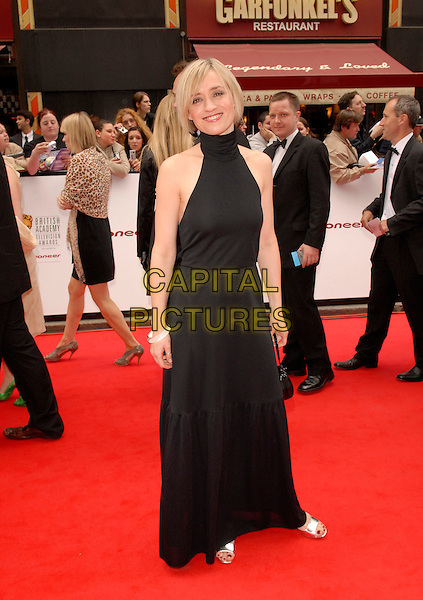 ANNE-MARIE DUFF.Red Carpet Arrivals at The British Academy Television Awards (BAFTA) Sponsored by Pioneer, held at the London Palladium, London, England, May 20th 2007..full length blackhalterneck maxi long dress anne anne marie.CAP/FIN.©Steve Finn/Capital Pictures.