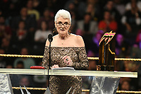 NEW YORK, NY - APRIL 6: Sue Aitchison at the 2019 WWE Hall Of Fame Ceremony at the Barclay's Center in Brooklyn, New York City on April 6, 2019.      <br /> CAP/MPI/GN<br /> ©GN/MPI/Capital Pictures