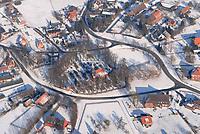 4415/Brunstorf: EUROPA, DEUTSCHLAND, SCHLESWIG- HOLSTEIN 28.01.2006 Brunstorf im Winter, Schnee, verschneit