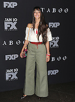 www.acepixs.com<br /> <br /> January 9 2017, LA<br /> <br /> Oona Chaplin arriving at the premiere of FX's 'Taboo' on January 9, 2017 in Los Angeles, California.<br /> <br /> By Line: Peter West/ACE Pictures<br /> <br /> <br /> ACE Pictures Inc<br /> Tel: 6467670430<br /> Email: info@acepixs.com<br /> www.acepixs.com