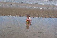 Safina on the beach at Bettystown near Drogheda 2nd Aug 2007