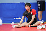 Koki Niwa (JPN), <br /> JULY 22, 2016 - Table Tennis : <br /> Japan national team training session <br /> for Rio Olympic Games 2016 <br /> at Ajinomoto National Training Center, Tokyo, Japan. <br /> (Photo by YUTAKA/AFLO SPORT)