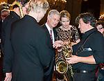 Roi Philippe et Reine Mathilde au Concert d'Automne au Palais Royal