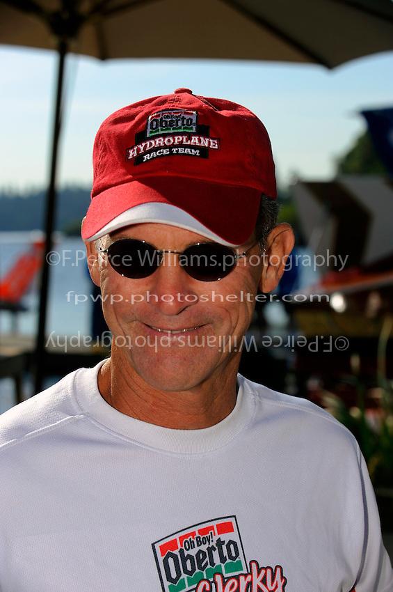 Oh Boy! Oberto driver Steve David..1-2 August, 2009 Seattle, Washington USA..©2009 F.Peirce Williams USA..