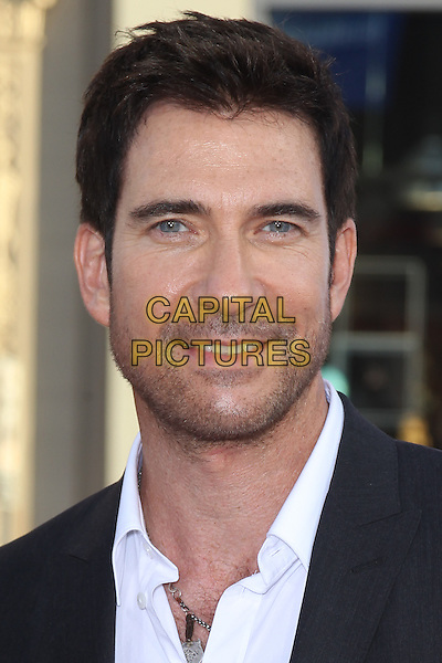 "DYLAN MCDERMOTT.Los Angeles premiere of Warner Brothers Pictures' ""The Campaign,"" at Grauman's Chinese Theatre in Hollywood. Hollywood, CA., USA. .August 2nd, 2012.headshot portrait white black stubble facial hair  .CAP/CEL .©CelPh/Capital Pictures."