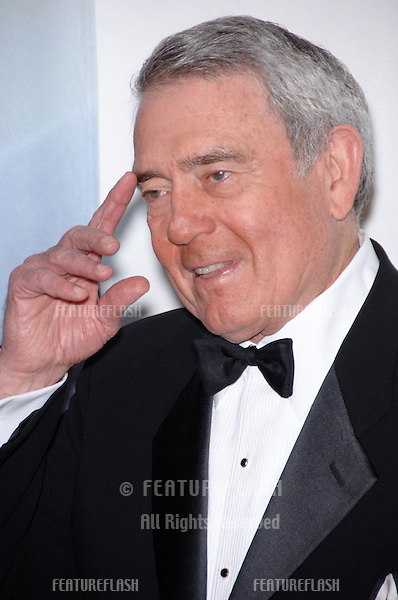 Former news anchor DAN RATHER at the 2006 Writers Guild Awards at the Hollywood Palladium.February 4, 2006  Los Angeles, CA.© 2006 Paul Smith / Featureflash