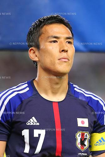 Makoto Hasebe (JPN), <br /> SEPTEMBER 6, 2013 - Football / Soccer : <br /> KIRIN Challenge Cup 2013 match <br /> between Japan 3-0 Guatemala <br /> at Nagai Stadium, Osaka, Japan.<br />  (Photo by AFLO SPORT) [1156]