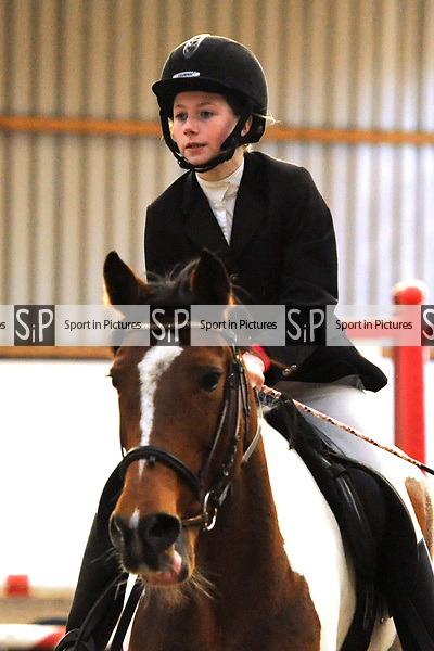 Class 6. Unaffiliated showjumping. Brook Farm Training Centre. Essex. UK. 03/12/2017. ~ MANDATORY Credit Ellen Szalai/Sportinpictures - NO UNAUTHORISED USE - 07837 394578