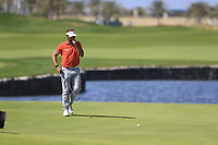 Joost Luiten (NED) on the 18th green during the final round of  the Saudi International powered by Softbank Investment Advisers, Royal Greens G&CC, King Abdullah Economic City,  Saudi Arabia. 02/02/2020<br /> Picture: Golffile | Fran Caffrey<br /> <br /> <br /> All photo usage must carry mandatory copyright credit (© Golffile | Fran Caffrey)