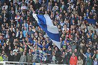 VOETBAL: HEERENVEEN: Abe Lenstra Stadion 21-05-2015, SC Heerenveen - Feyenoord, uitslag 1-0, SC Heerenveen publiek, ©foto Martin de Jong