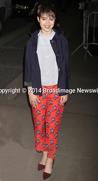 Pictured: Sami Gayle <br /> Mandatory Credit &copy; DDNY/Broadimage<br /> Marie Claire &amp; The Cinema Society Host A Screening Of Summit Entertainment's &quot;Divergent&quot; - Outside Arrivals<br /> <br /> 3/20/14, New York, New York, United States of America<br /> <br /> Broadimage Newswire<br /> Los Angeles 1+  (310) 301-1027<br /> New York      1+  (646) 827-9134<br /> sales@broadimage.com<br /> http://www.broadimage.com