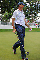 Matt Kuchar (USA) is all smiles after chipping in on 10 during Saturday's round 3 of the World Golf Championships - Bridgestone Invitational, at the Firestone Country Club, Akron, Ohio. 8/5/2017.<br /> Picture: Golffile | Ken Murray<br /> <br /> <br /> All photo usage must carry mandatory copyright credit (&copy; Golffile | Ken Murray)