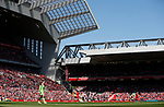 The giant Main stand looms over the rest of the ground during the English Premier League match at Anfield Stadium, Liverpool. Picture date: May 7th 2017. Pic credit should read: Simon Bellis/Sportimage