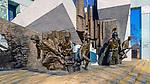 Pomnik ku czci bohater&oacute;w powstania warszawskiego na placu Krasińskich w Warszawie, Polska<br /> Monument to the Heroes of the Warsaw Uprising at Krasińskich Square in Warsaw, Poland