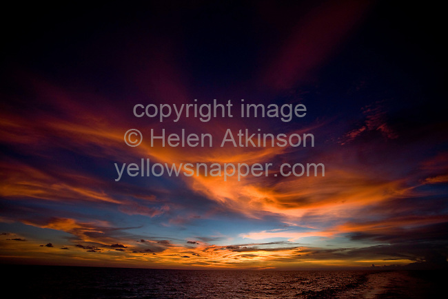Sunset over Ko Samet island, Thailand..Copyright: Helen Atkinson 2008 +447976265253