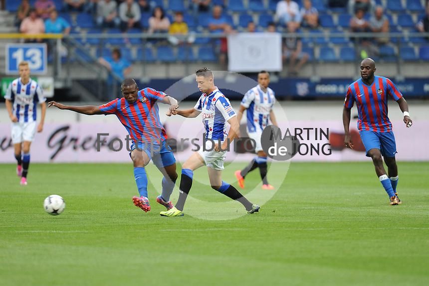 VOETBAL: HEERENVEEN: 02-08-2014, Abe Lenstra Stadion, SC Heerenveen - Levante, oefenduel uitslag 0-1, Mark Uth, ©foto Martin de Jong