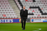 Stoke City Manager Paul Lambert during AFC Bournemouth vs Stoke City, Premier League Football at the Vitality Stadium on 3rd February 2018