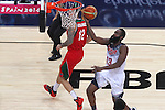 06.09.2014. Barcelona, Spain. 2014 FIBA Basketball World Cup, round of 16. Picture show J. Harden   in action during game between  Mexico v Usa  at Palau St. Jordi