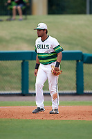 South Florida Bulls third baseman David Villar (10) during a game against the Dartmouth Big Green on March 27, 2016 at USF Baseball Stadium in Tampa, Florida.  South Florida defeated Dartmouth 4-0.  (Mike Janes/Four Seam Images)