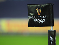 Guinness Pro14 branding<br /> <br /> Photographer Kevin Barnes/CameraSport<br /> <br /> Guinness Pro14 Round 13 - Ospreys v Cardiff Blues - Saturday 6th January 2018 - Liberty Stadium - Swansea<br /> <br /> World Copyright &copy; 2018 CameraSport. All rights reserved. 43 Linden Ave. Countesthorpe. Leicester. England. LE8 5PG - Tel: +44 (0) 116 277 4147 - admin@camerasport.com - www.camerasport.com