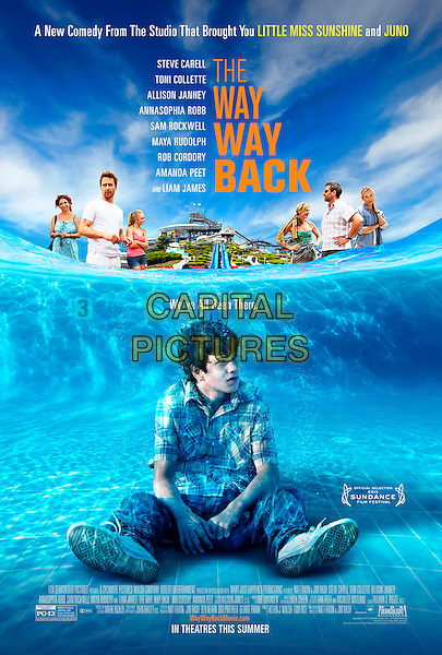 POSTER ART<br /> in The Way Way Back (2013) <br /> *Filmstill - Editorial Use Only*<br /> CAP/NFS<br /> Image supplied by Capital Pictures