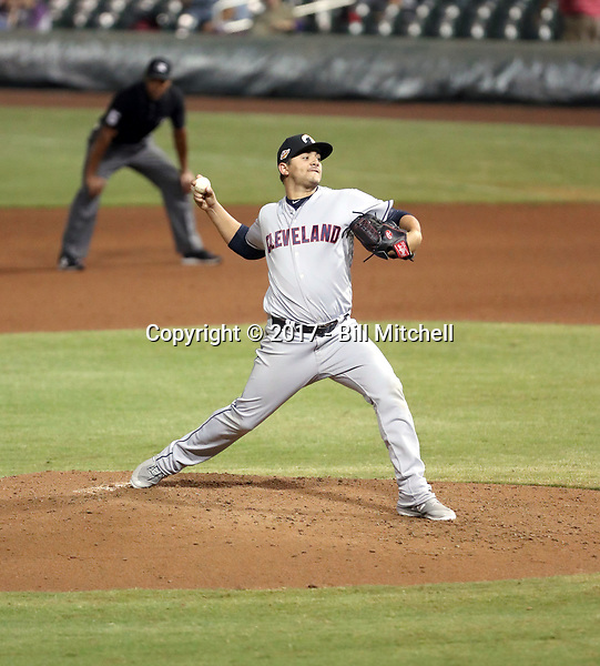 Leandro Linares - Glendale Desert Dogs - 2017 Arizona Fall League (Bill Mitchell)