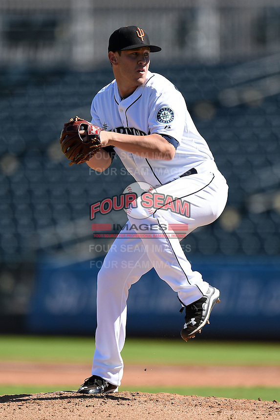 Surprise Saguaros pitcher Matt Anderson (39) during an Arizona Fall League game against the Scottsdale Scorpions on October 11, 2014 at Surprise Stadium in Surprise, Arizona.  Scottsdale defeated Surprise 7-6.  (Mike Janes/Four Seam Images)