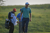Seamus Power (IRL) looks over his putt on 10 during day 1 of the Valero Texas Open, at the TPC San Antonio Oaks Course, San Antonio, Texas, USA. 4/4/2019.<br /> Picture: Golffile | Ken Murray<br /> <br /> <br /> All photo usage must carry mandatory copyright credit (© Golffile | Ken Murray)