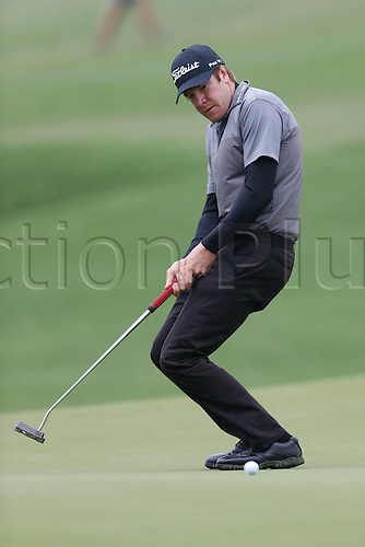 27.11.2014. Sydney, Australia. Australian Open Golf Championship, Round 1 held at The Australian Golf Club.  ARON PRICE