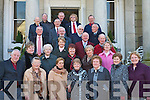REUNION: Past members of Killarney Musical Society who held a reunion in the Malton Hotel, Killarney on Sunday were: Patrick Fleming, Marie Leen, Peggy O'Neill, Bridie Costello, Maura O'Donoghue, Kathleen Murphy, Sheila Murphy, Sheila O'Donoghue, Maureen O'Reilly, Anne Moriarty, Betty Neeson-Rohan, Patsy Healy-Hanley, Anne Kelly-Crean, Arthur Hurley, Terry Ryan, Dr Dick Shanahan, Michael Browne, Finian Forde, Jim McNeese, Jim Cronin, John Coffey, Michael O'Sullivan, Donal Meara, Vincent Counihan and Ivo O'Sullivan.   Copyright Kerry's Eye 2008