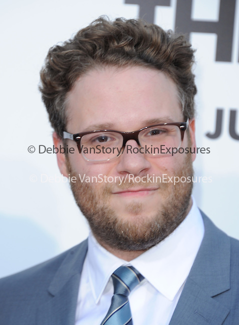 Seth Rogen at Columbia Pictures' World Premiere of This is the End Premiere held at The Regency Village Theatre in Westwood, California on June 03,2013                                                                   Copyright 2013 Hollywood Press Agency