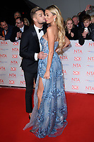 Chris Hughes and Olivia Attwood<br /> arriving for the National Television Awards 2018 at the O2 Arena, Greenwich, London<br /> <br /> <br /> ©Ash Knotek  D3371  23/01/2018
