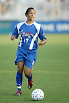 4 July 2003: Danielle Slaton. The Carolina Courage defeated the Atlanta Beat 3-2 at SAS Stadium in Cary, NC in a regular season WUSA game.