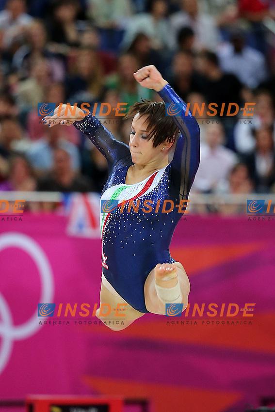 Londra 31/07/2012 North Greenwich Arena.London 2012 Olympic Games Women Gymnastic Artistic.Olimpiadi Londra 2012 Ginnastica artistica femminile a squadre.Erika Fasana.Foto Insidefoto Paolo Nucci.