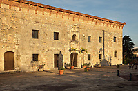 Museo de las Casas Reales, or Museum of the Royal Houses, in the Colonial Zone of Santo Domingo, capital of the Dominican Republic, in the Caribbean. The museum was opened in 1973 to celebrate the history and culture of the Spanish inhabitants of the colony, and is housed in a 16th century colonial palace originally serving as governor's office and Audiencia Real or Royal Court. Santo Domingo's Colonial Zone is listed as a UNESCO World Heritage Site. Picture by Manuel Cohen