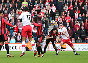 3rd December 2017, Vitality Stadium, Bournemouth, England; EPL Premier League football, Bournemouth versus Southampton; Nathan Ake of Bournemouth gets his header on goal but saved by Fraser Forster of Southampton