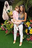 Luisa Zissman and daughter<br /> arives for the &quot;Rio 2&quot; Screening at the Vue cinema Leicester Square, London. 30/03/2014 Picture by: Steve Vas / Featureflash