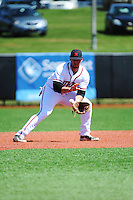 Rutgers University Scarlet Knights infielder Ross Costello (36) during game against the University of Connecticut Huskies at Bainton Field on May 3, 2013 in Piscataway, New Jersey. Connecticut defeated Rutgers 3-1.      . (Tomasso DeRosa/ Four Seam Images)