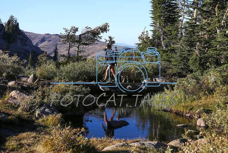 Images from the Woods Lake trail near Kirkwood, Ca., on Saturday, Oct. 7, 2017. <br /> Photo by Cathleen Allison/Nevada Momentum