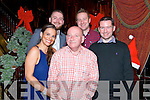John O'Neill from Ross Road, Killarney celebrated his 60th Birthday with family Elaine O'Neill, Johnny O'Neill, David O'Neill and P.J Lynch with a Surprise Party organised for him in the Avenue Hotel Killarney last Friday night.