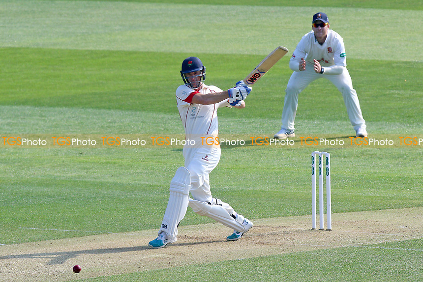 Dane Vilas hits out for Lancashire during Essex CCC vs Lancashire CCC, Specsavers County Championship Division 1 Cricket at The Cloudfm County Ground on 7th April 2017