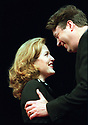 What The Night Is For by Michael Weller, directed by John Caird. with Gillian Anderson as Melinda Metz, Roger Allam as Adam Penzius. opened at the Comedy Theatre on 27/11/02  pic Geraint Lewis
