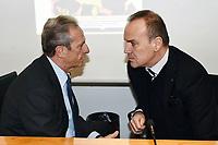 Gaetano Micciche'-Mauro Balata<br /> Milano 3-12-2018Convegno Quarta Categoria Il calcio e' di tutti<br /> Daniele Buffa / Image Sport / Insidefoto