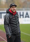 17.11.2019, Marschwegstadion, Oldenburg, GER,RL Nord, VfB Oldenburg  vs Holstein Kiel II U23, im Bild<br /> Fabian RAUE (Holstein Kiel #Trainer )<br /> Foto © nordphoto / Rojahn