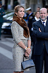 Infanta Elena of Spain attends the National Day Military Parad.October 12,2012.(ALTERPHOTOS/Pool)
