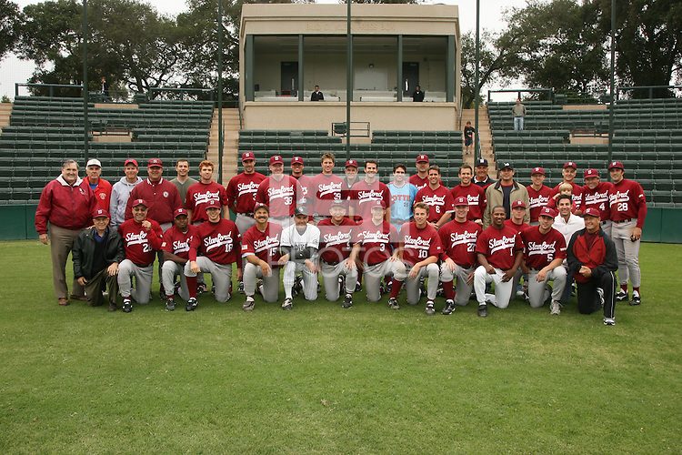 15 October 2006: Alumni participate in the annual alumni game at Sunken Diamond in Stanford, CA.