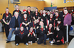 Members of the Ennis Eagles Bowling Club pictured during the Special Olympics Munster qualifiers at Leisure World in Ennis. Photograph by Declan Monaghan