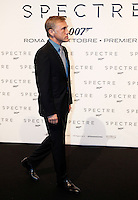 L'attore austriaco Christoph Waltz posa sul red carpet per la premiere del film 'Spectre' a Roma, 27 ottobre 2015 .<br /> Austrian actor Christoph Waltz poses on the red carpet for the premiere of the movie 'Spectre' premiere in Rome, 27 October 2015 .<br /> UPDATE IMAGES PRESS/Isabella Bonotto<br /> <br /> *** ITALY AND GERMANY OUT  ***
