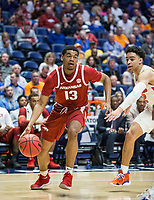 NWA Democrat-Gazette/BEN GOFF @NWABENGOFF<br /> Mason Jones, Arkansas guard, vs Florida Thursday, March 14, 2019, during the second round game in the SEC Tournament at Bridgestone Arena in Nashville.