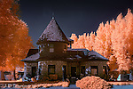 Classic Stone House, Blanding, Utah (Infrared) ©2017 James D Peterson.  The builder of this home probably wasn't concerned with how his/her property would look in infrared light.  But they managed to come up with a winner nonetheless.
